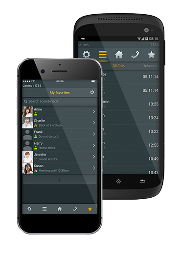 myPBX Client app for Android and iOS