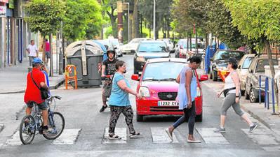 Los vecinos de Ciudad Jardín rechazan de forma unánime el plan de peatonalización propuesto