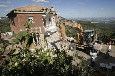 Diez años del derribo en la Sierra