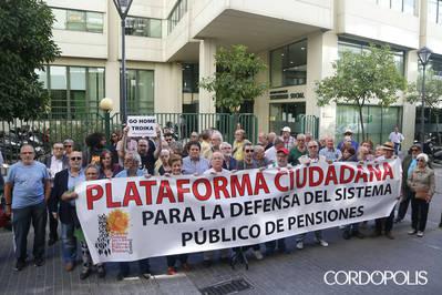 Los pensionistas vuelven a la calle en abril