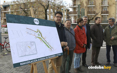 La mejora de la Avenida de Trassierra estará rematada para febrero de 2019