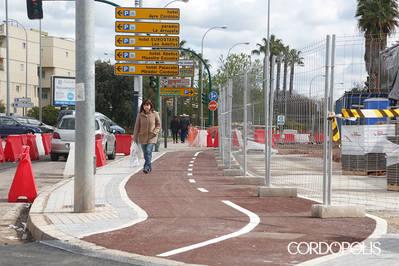 UCOR pide que el gobierno local reclame a la Junta nuevas actuaciones de carril bici