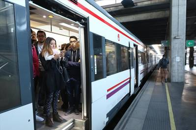 El billete sencillo para el cercanías costará 1,8 y el de ida y vuelta, 2,55