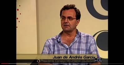 Entrevista Juan Andrés de Gracia Presidente Consejo Movimiento Ciudadano