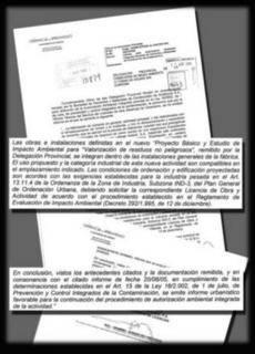 IU avaló en 2006 que la incineración en Cosmos era compatible con el PGOU