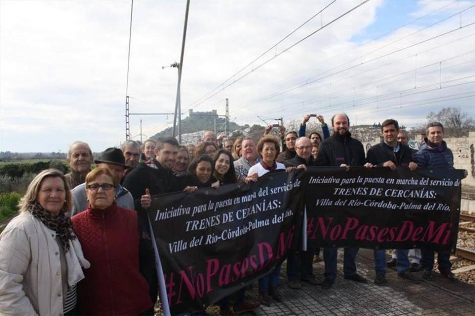 Primer acto reivindicativo en Almodóvar