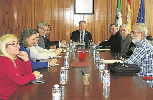 Reunión del subdelegado con la Federación Al-Zahara