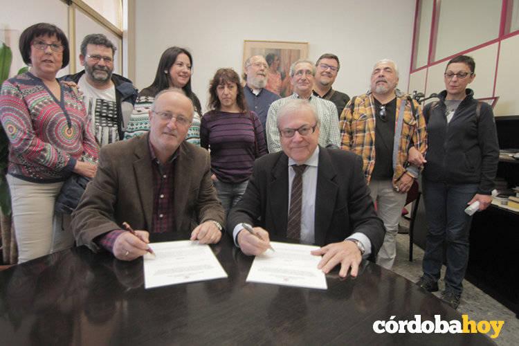 Rey Heredia, punto y final: el Ayuntamiento firma su cesión definitiva