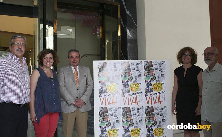La Junta presenta el programa 'Axerquía Viva' organizado por la Asociación Vecinal La Axerquía