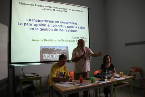 ACUERDOS DEL ENCUENTRO DE PLATAFORMAS ANDALUZAS CONTRA LA INCINERACIÓN EN CEMENTERAS.