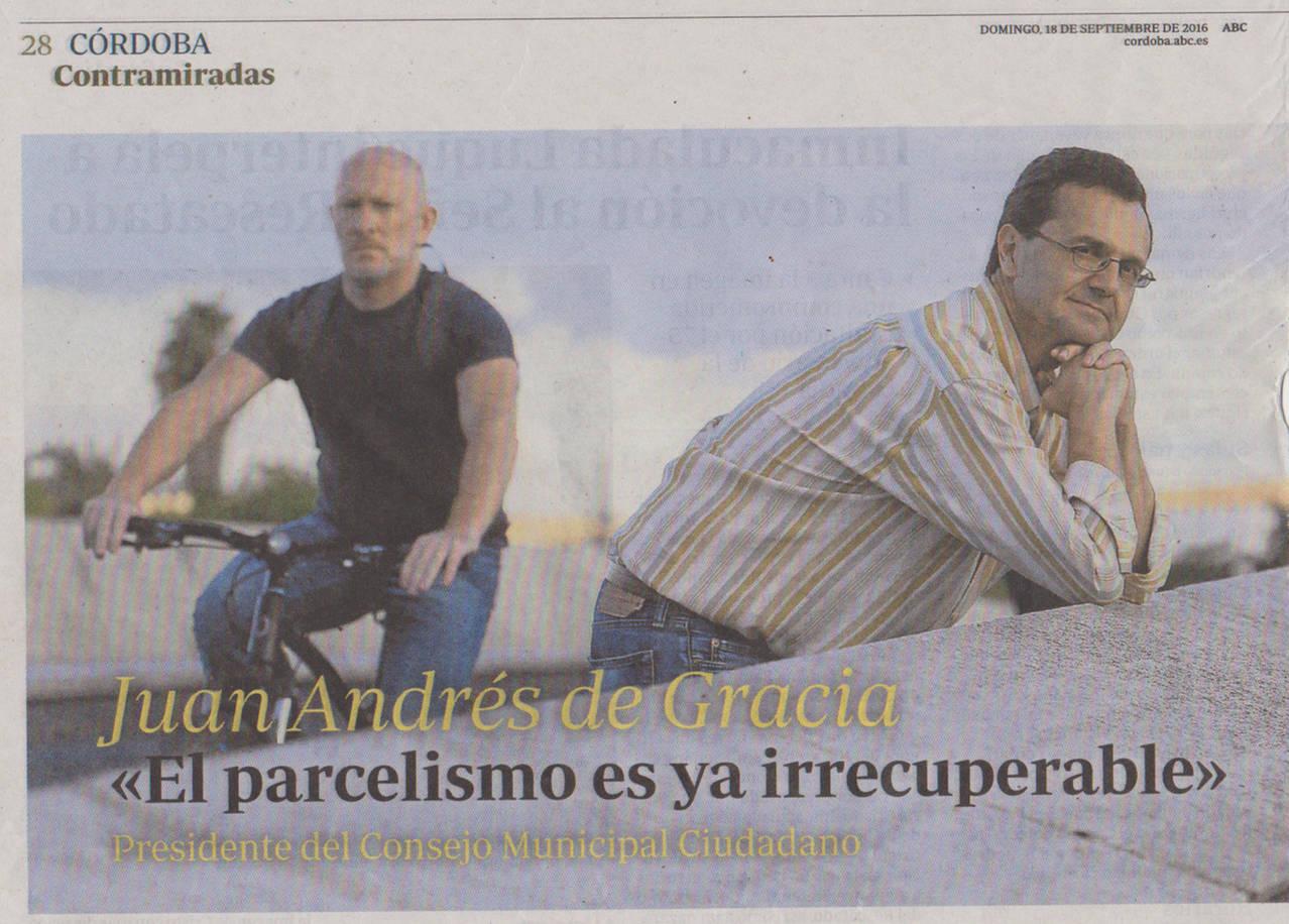 EL PARCELISMO ES IRRECUPERABLE (Juan Andres de Gracia)