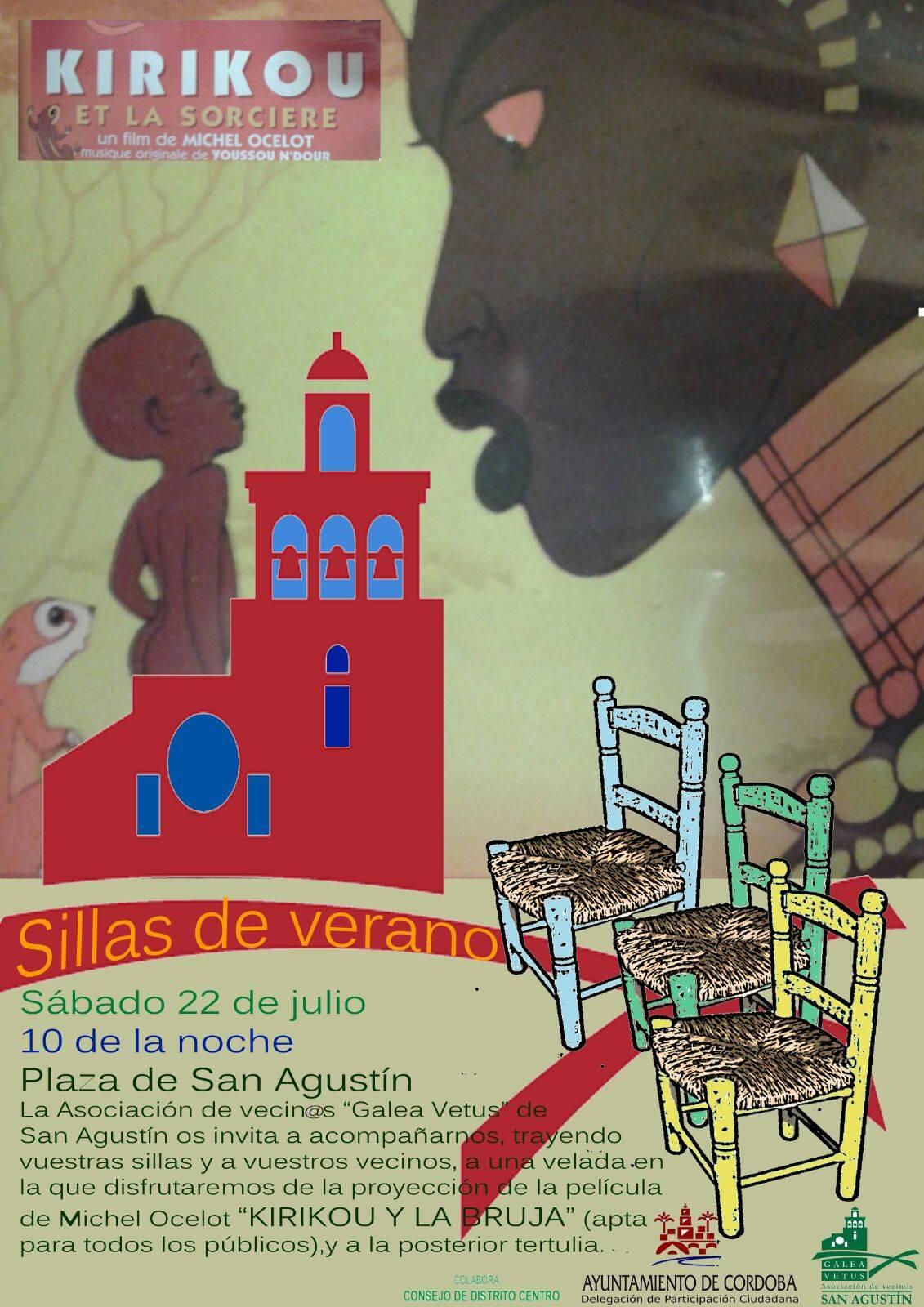 SILLAS DE VERANO - A.V. GALEA VETUS -SAN AGUSTIN