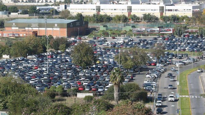 La Junta dejará el parking del hospital tal y como está si no hay un consenso