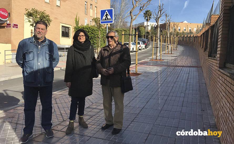 El Ayuntamiento finaliza otra obra de Mi Barrio es Córdoba en Valdeolleros