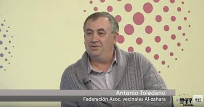 Entrevista Antonio Toledano, Federación Asociaciones vecinales Al zahara