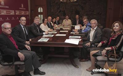 Compromiso institucional con el Plan Integral para el barrio de Las Palmeras