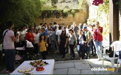 Jornada de convivencia entre vecinos y refugiados