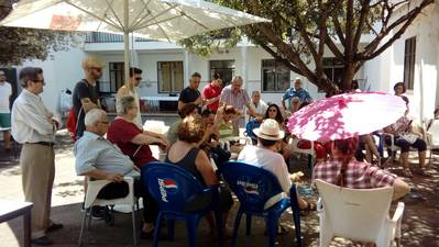 Asamblea de Galea Vetus en el colegio Luciana Centeno