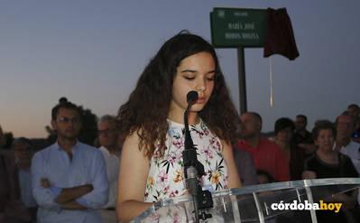 El mirador del Parque de la Asomadilla ya lleva el nombre de la concejal María José Moros