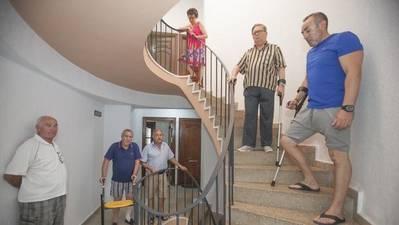 El timo del ascensor en Córdoba