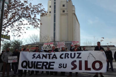 Santa Cruz reivindica su Silo
