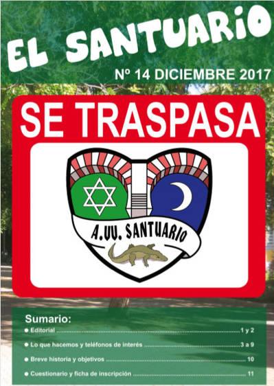REVISTA DE LA A. VV. SANTUARIO 14/12/2017
