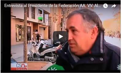 Entrevista al Presidente de la Federación de AA. VV. Al-zahara