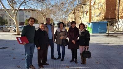 Infraestructuras remodela el paseo de Fray Bartolomé de las Casas