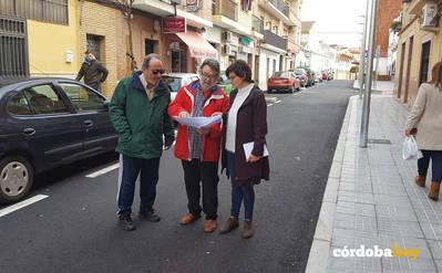Finaliza la intervención en la calle Téllez de Meneses en el marco del plan Mi Barrio es Córdoba