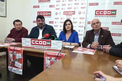 CCOO y UGT se unen a la protesta por las pensiones