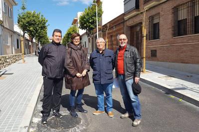 Concluyen las obras de reforma de la calle La Granjuela