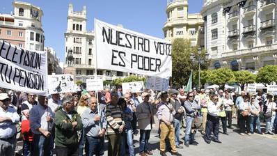 Una nueva protesta pide medidas que garanticen el futuro de las pensiones