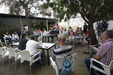 Los vecinos de San Agustín piden que agilice la cesión del Luciana Centeno