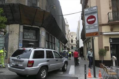 """El Ayuntamiento """"no ve mal"""" que el tráfico del centro se quede como está"""