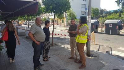 Las obras de remodelación en Virgen de Fátima podrían finalizar en agosto