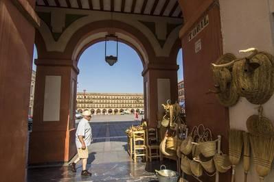 El centro histórico y comercial de la Axerquía