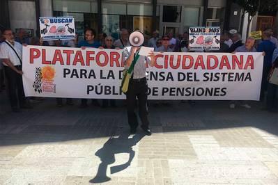 Los pensionistas preparan una 'vuelta al cole' caliente