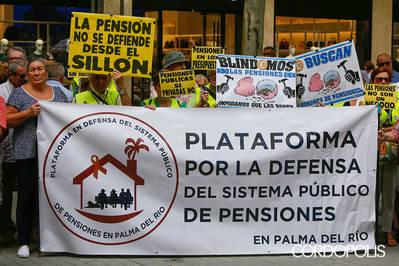Los jubilados vuelven a la calle para conseguir revalorizar las pensiones con el IPC