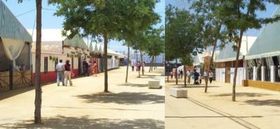 El Ayuntamiento instalará los toldos de la Feria este año