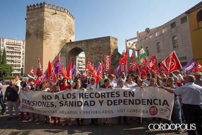 Los mayores seguirán protestando en la calle hasta que no se vinculen las pensiones al IPC