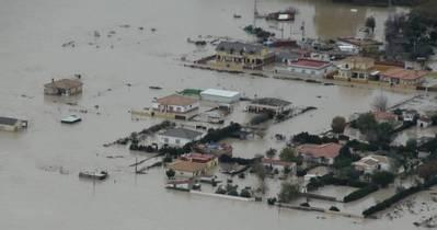 El alto riesgo de inundación