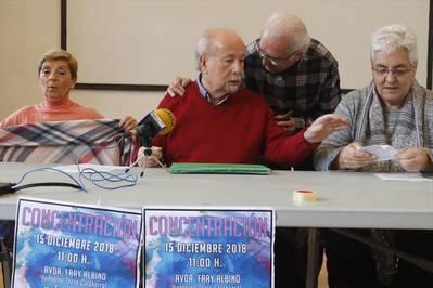 Los jubilados se movilizan para pedir pensiones dignas también para ellas