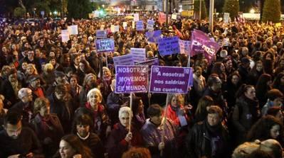 PSOE y asociaciones de vecinos apoyan la movilización feminista