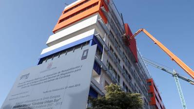 Urbanismo exige 668.826 euros a la constructora de la Normal por daños