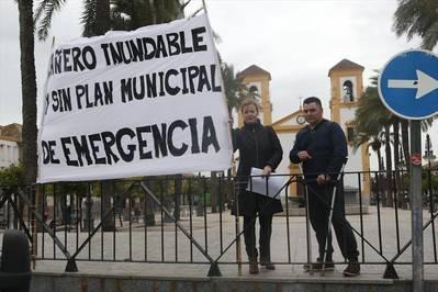 Quejas en Cañero por la inundabilidad