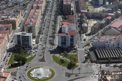 Una bandera de Andalucía como la del Vial ondeará en el Sector Sur