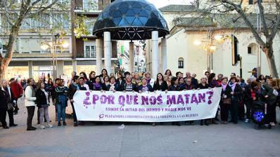 La Plataforma Contra la Violencia a las Mujeres comenzará su vigilia por la tarde