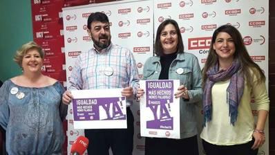 Los sindicatos llaman a la huelga feminista del 8 de marzo en Córdoba