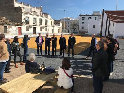 El antiguo Cine Andalucía se abrirá a final de mes como espacio recreativo vecinal