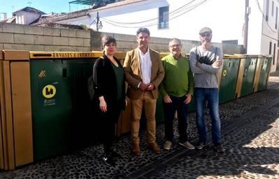 Sadeco elimina de las calles del casco histórico el 50% de contenedores